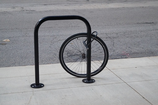 Rest of a stolen bike