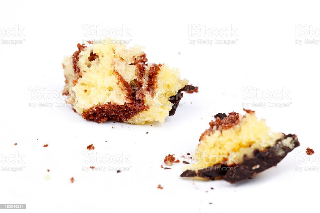 Rest of marble cake royalty-free stock photo