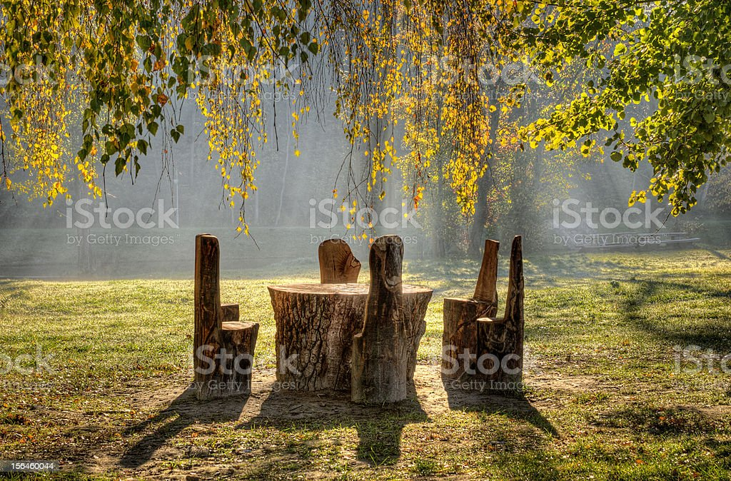 Rest place royalty-free stock photo