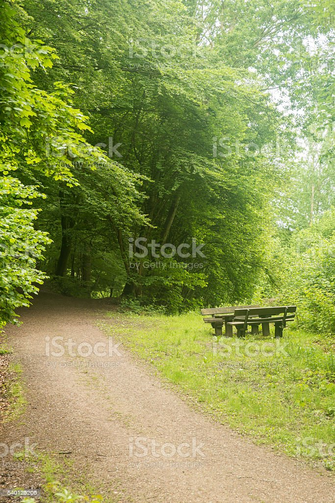 Rest place stock photo