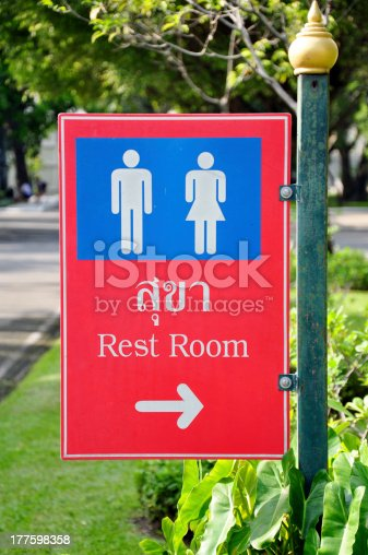 480193462 istock photo Rest Room Signs 177598358