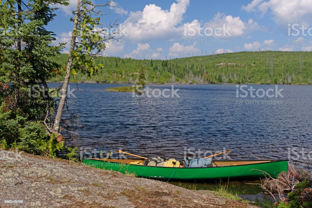 Rest Stop on a Sunny Day stock photo