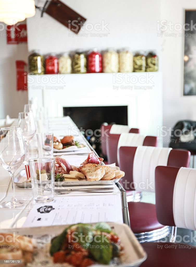 restaurant bar interior royalty-free stock photo