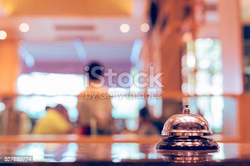 istock Restaurant bell service 527689774