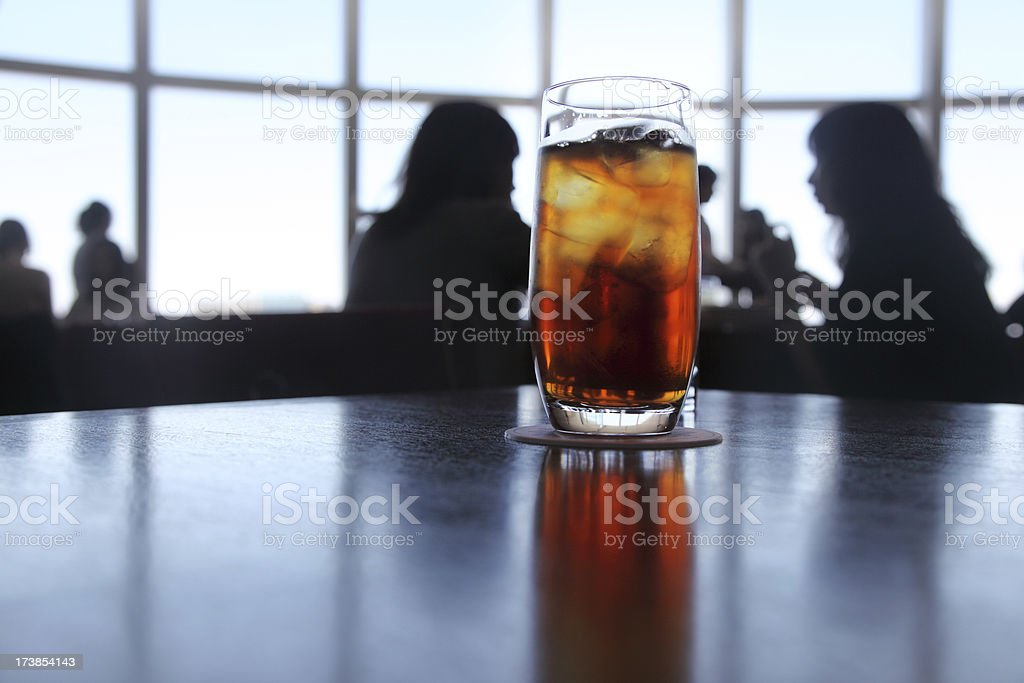 Restaurant: Beverage stock photo