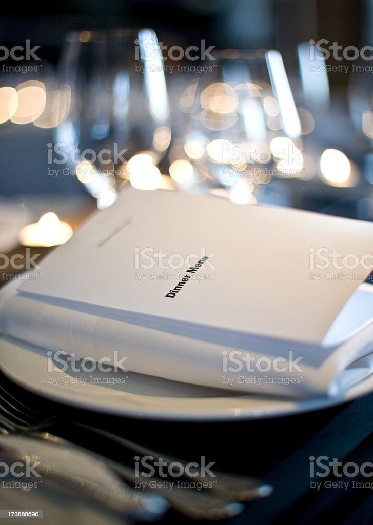 Restaurant dining interior royalty-free stock photo