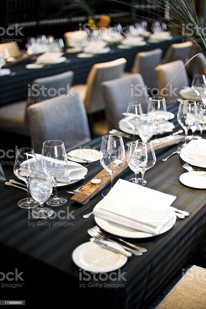 Restaurant dining interior royalty-free stock photo