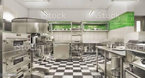 Restaurant equipment modern industrial kitchen 3d illustration picture id1171889232?b=1&k=6&m=1171889232&s=612x612&h=ixjxngisif8ulfur5be4j2ivoiay mvpbfyy7y9 gog=