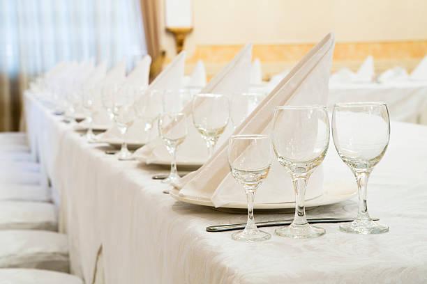 restauracja zdarzenia. sale bankietowe, ślub ceremonia - sala balowa zdjęcia i obrazy z banku zdjęć