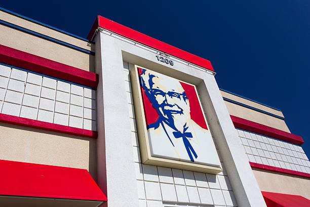 KFC Restaurant Exterior stock photo