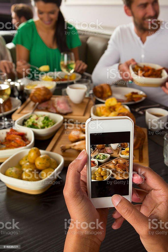 Restaurant Foodie stock photo