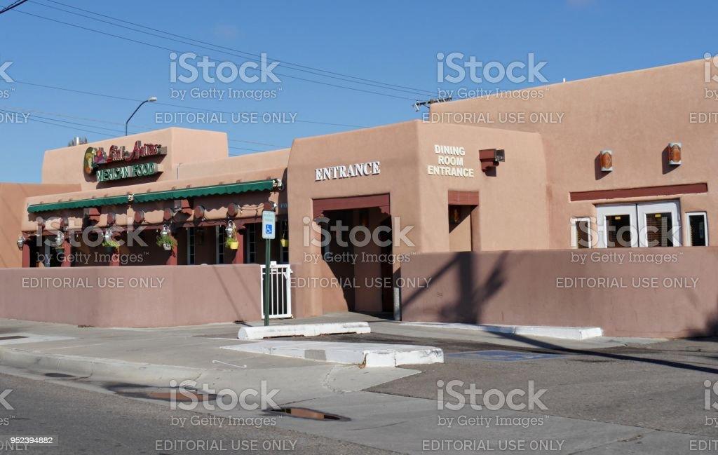 Restaurant in Albuquerque stock photo