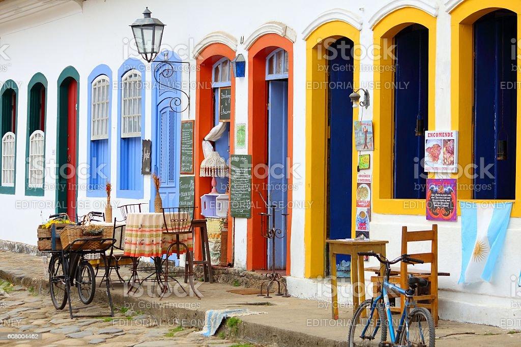 Restaurant in Brazil stock photo