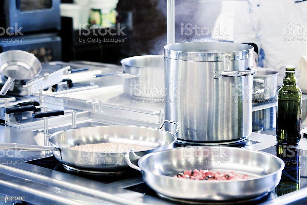 Restaurant Kitchen royalty-free stock photo