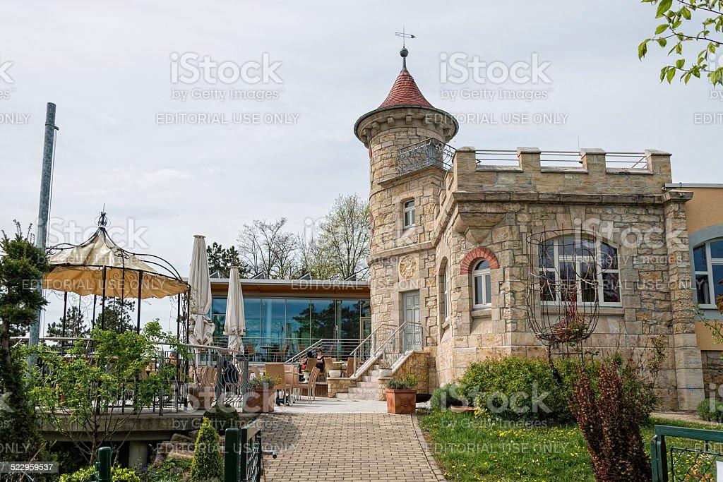 Restaurant Landgrafen in Jena, Germany stock photo