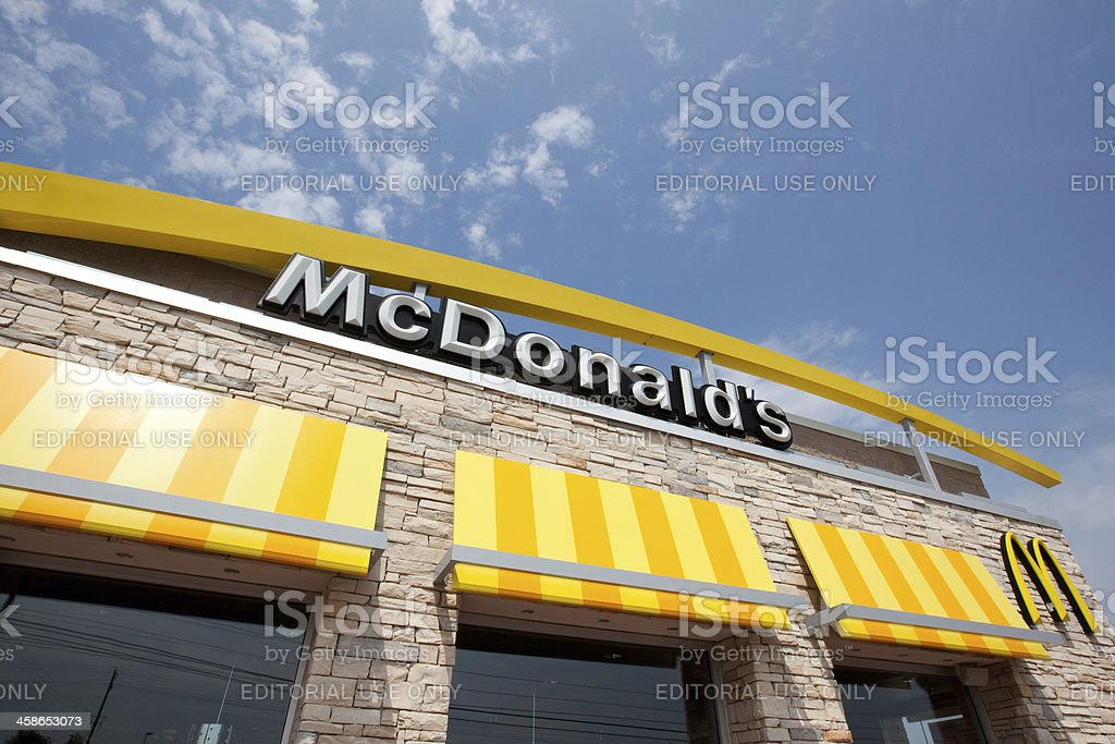Restaurant McDonald's stock photo