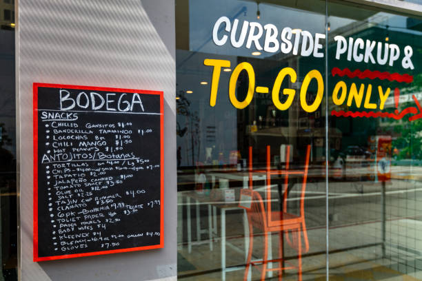 Restaurant Offering Curbside Pickup & To-Go Only and Groceries During Covid-19 Lockdown