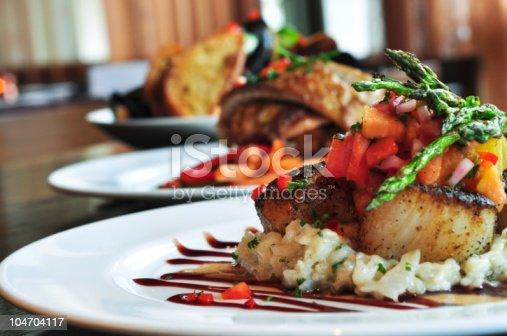 istock Restaurant Plates 104704117