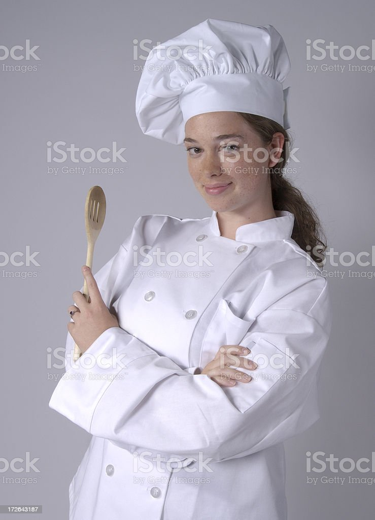 restaurant pro chef royalty-free stock photo