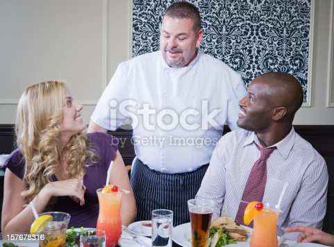 istock Restaurant Server 157678316