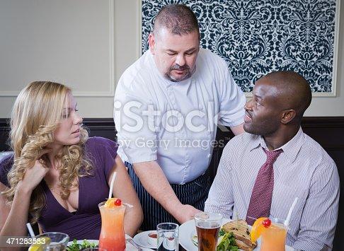 istock Restaurant Server 471283583