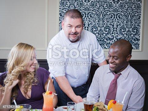 istock Restaurant Server 471283589