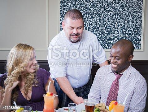 istock Restaurant Server 471283599