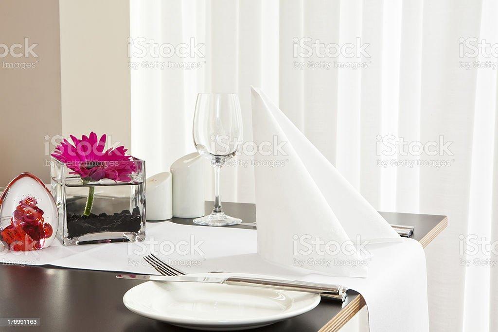 Restaurant Table Setup Stock Photo - Download Image Now - iStock