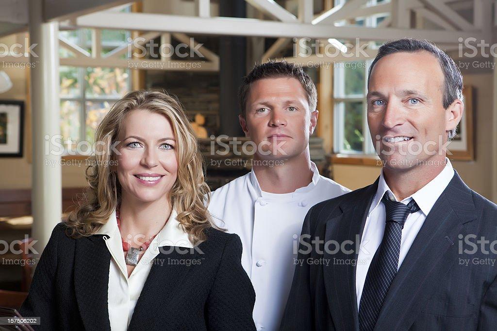 Personal de restaurante - foto de stock