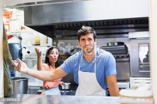 istock Restaurant workers 513358423