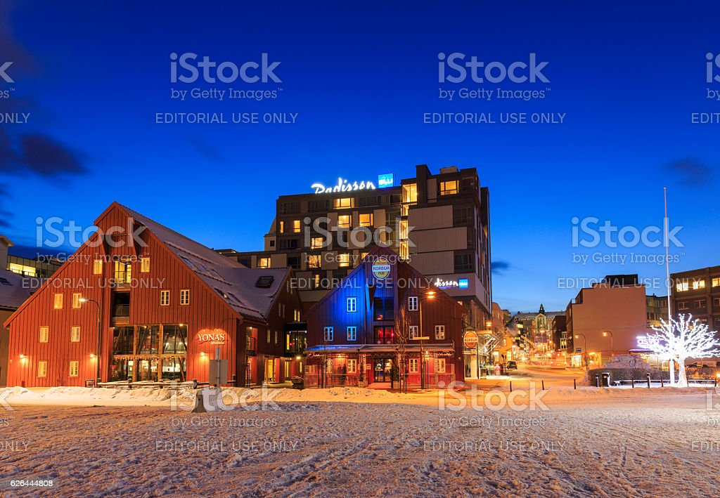 Restaurants and hotels stock photo