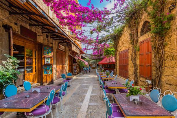 Restaurants Old Souk Byblos Jbeil Libanon – Foto