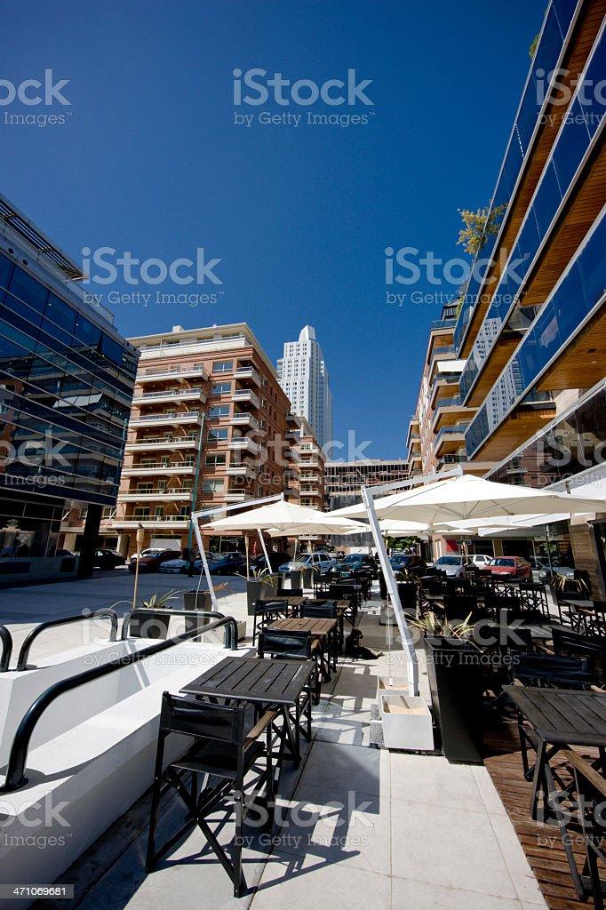 Restaurants Puerto Madero Buenos Aires royalty-free stock photo