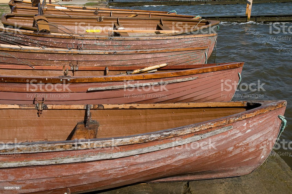 Resting boats royalty-free stock photo