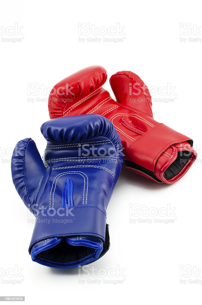 Resting gloves royalty-free stock photo
