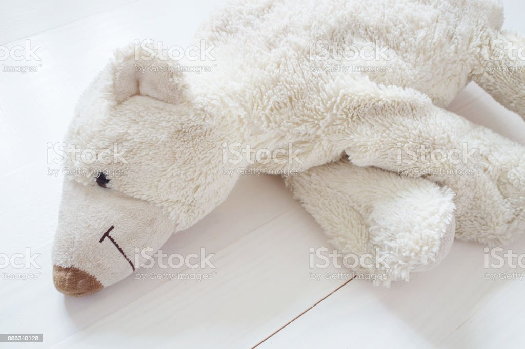 Resting Polar Bear Toy Stock Photo Download Image Now Istock