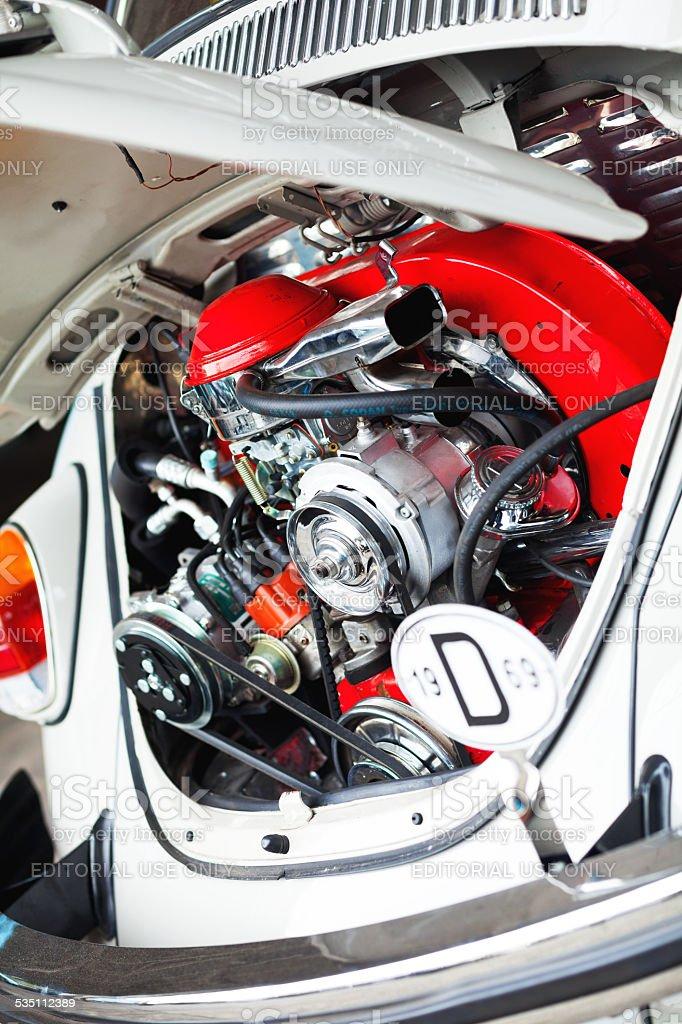 Foto De Restaurado Motor Da Antiga Vw Beetle E Mais Fotos De Stock De 1969 Istock