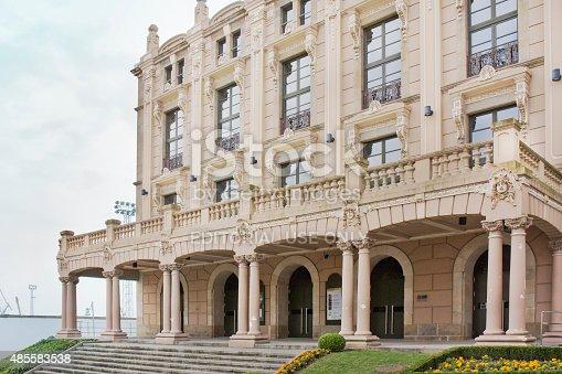 istock Restored Jofre theatre, Ferrol, Galicia, Spain. 485583538