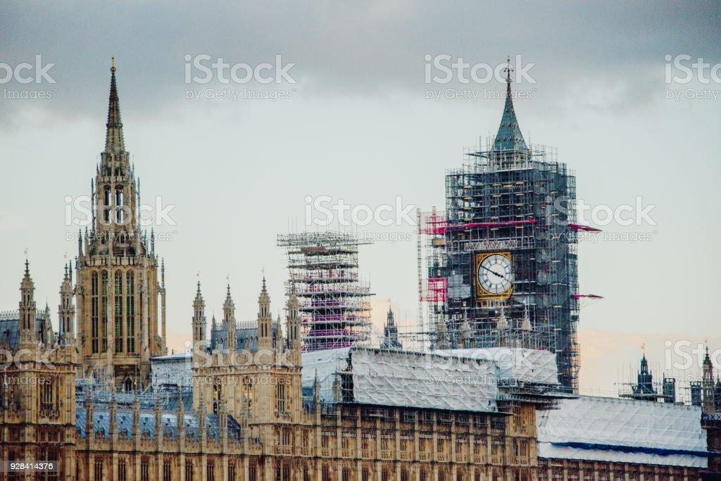 Restoring Britain stock photo
