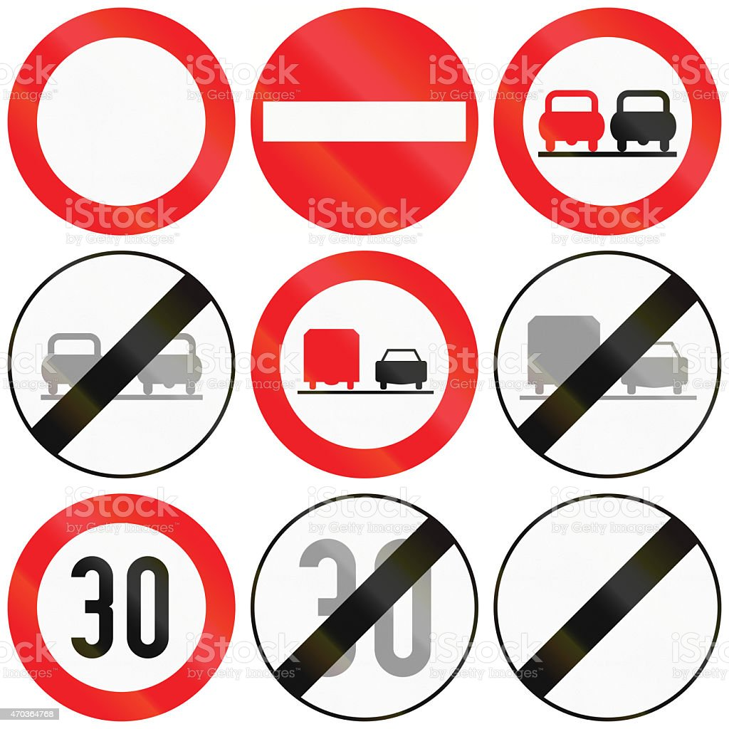 Restrictions in Austria stock photo