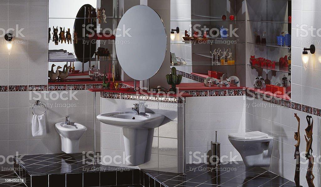 Restroom essentials stock photo