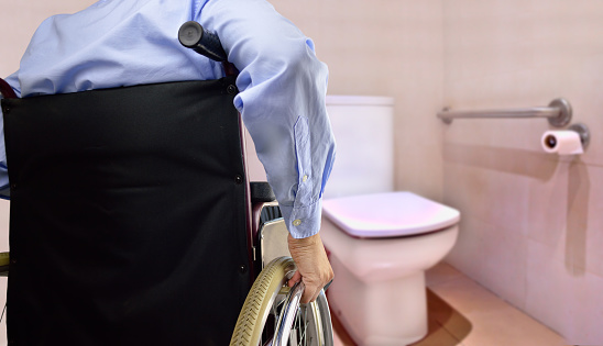 istock restroom for disability person 690064600
