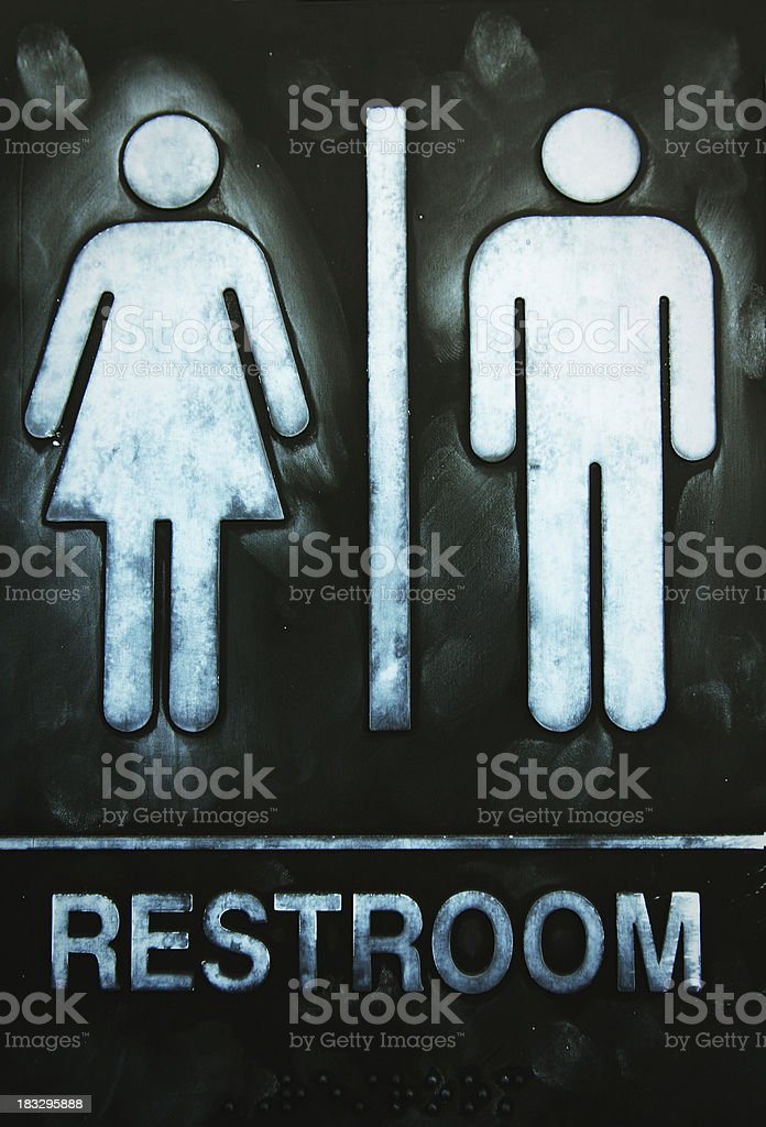 Restroom royalty-free stock photo