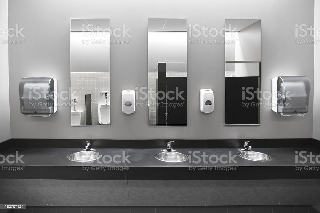 restroom sinks stock photo public bathroom sink o70 sink