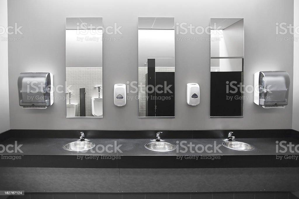 public bathroom mirror. Unique Bathroom Restroom Sinks Stock Photo In Public Bathroom Mirror R