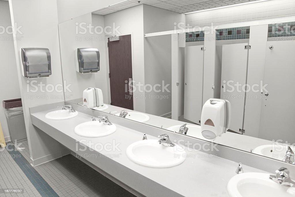 Restroom Sinks stock photo