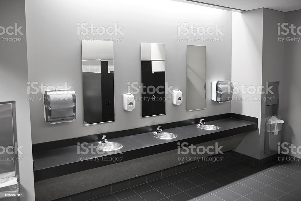 Restroom Sinks stock photo