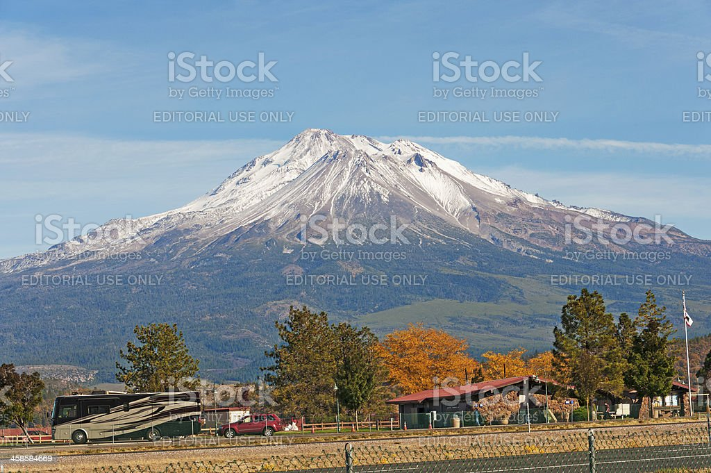 Reststop with a view royalty-free stock photo