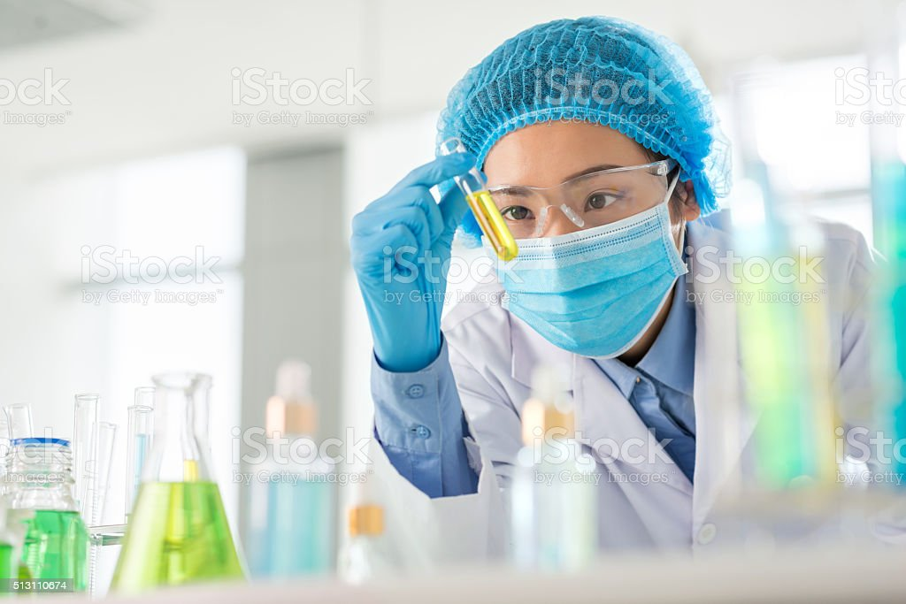 Result of research stock photo