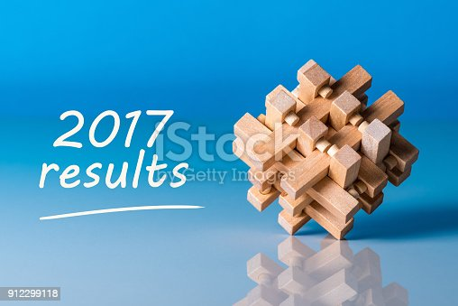istock 2017 results. Year review concept. Time to summarize and plan goals for the next year. 912299118